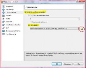 CD ISO Abbild