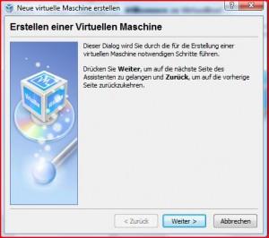 Webserver anlegen