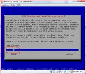 Root Passwort