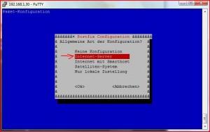 Postfix Internetserver