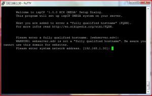 Webserver IP