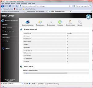 Webserver Verwalten