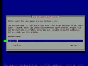 Debian 5.0 Server Name