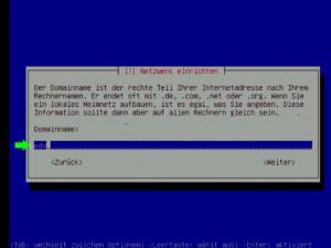 Debian 5 Domain