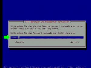 Passwort wiederholen