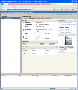 Final VMware Server 2.0 auf Debian 5.0 64 bit