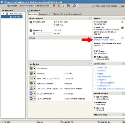 VMware Treiber
