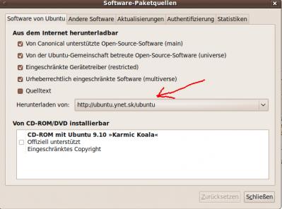 Software-Center Server