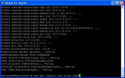 VMWare Server Schritt 2