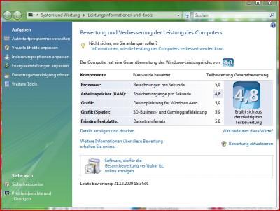 Acer Aspire M3641 Leistung