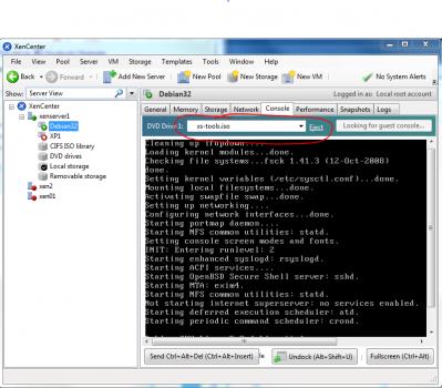 Install XenServer Tool