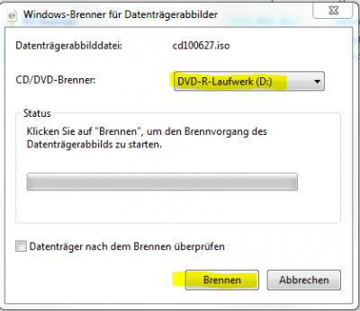 ISO CD/DVD