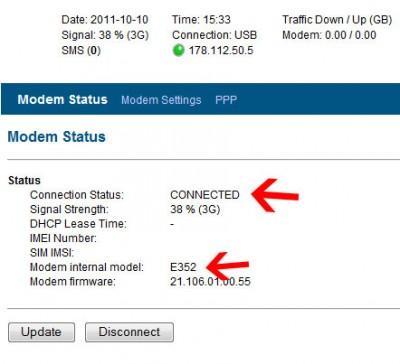 modem-status