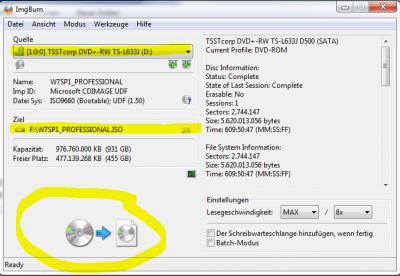Windows 7 Bootstick