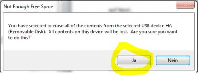 USB Stick mit ISO Image brennen
