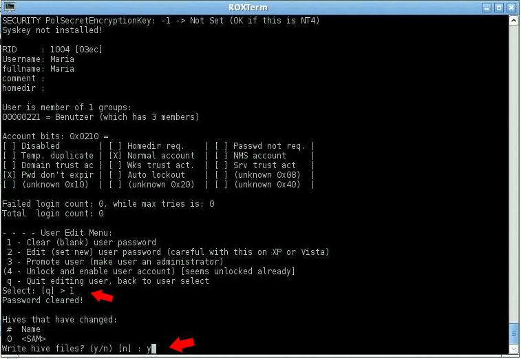 windows 7 passwort löschen