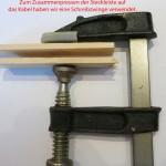 JTAG-Kabel-Pressen