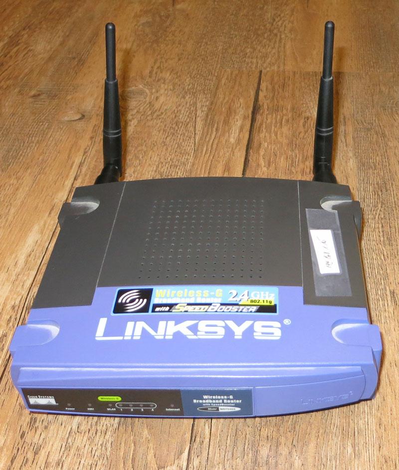 Linksys WRT54gs wiederbeleben nach dem zerflashen mit JTAG Kabel