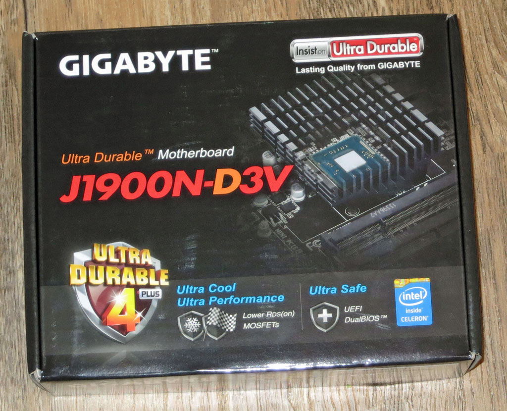 Gigabyte-GA-J1900N-D3V Linux