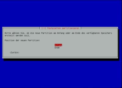 Debian-Raid Position