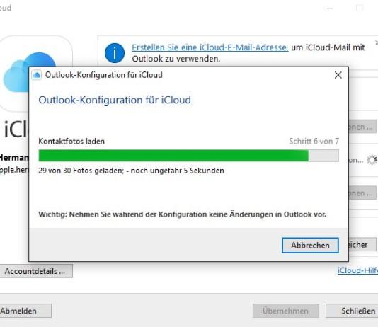 icloud Outlook