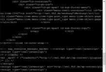 telnet HTML