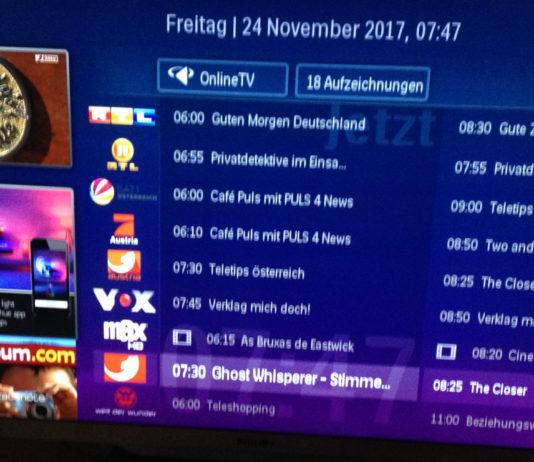 Philips TV Programm-zeitschrift
