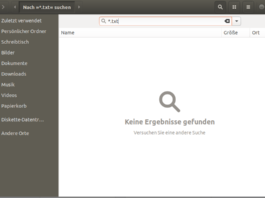 Nautilus suche Ubuntu