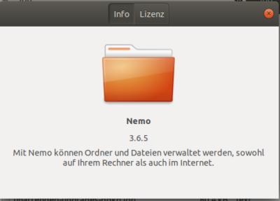 Nemo-Dateimanager