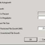 SQL LOG Größe